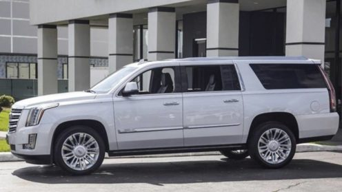 New Cadillac Escalade ESV (LWB) Luxury SUV Bright White