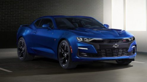 New Chevrolet Camaro Coupe and Convertible