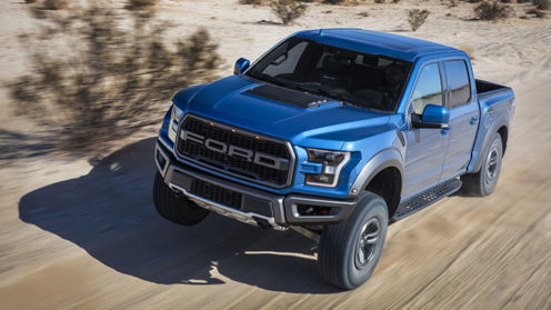 New Ford F150 Crew Cab Raptor 450bhp Twin-Turbo 4x4