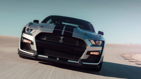 All new Mustang Shelby GT500
