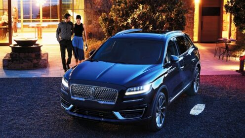All new Lincoln Nautilus 2.7L 335bhp Twin Turbo Luxury SUV
