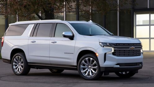 All new Chevrolet Suburban 7/8 Seat Luxury SUV