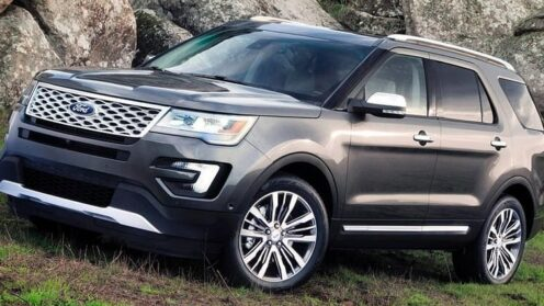 Ford Explorer Limited Luxury 7-Seat SUV 4WD