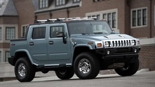 Hummer H2 SUT Luxury 4WD Open Back
