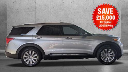 Explorer Limited Luxury 7-Seat Dual Sunroof