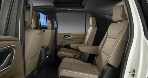chevrolet suburban rear seats