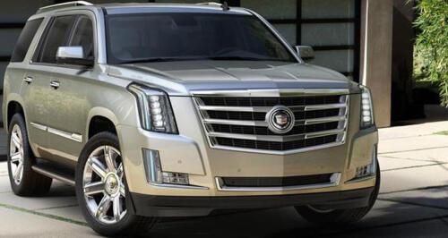 Cadillac Escalade Font