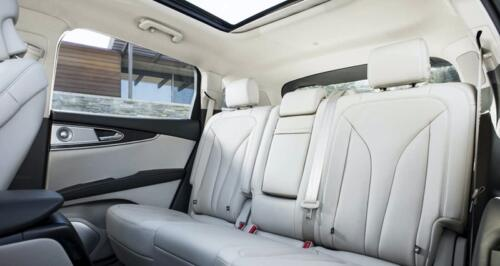 Lincoln Navigator rear seats